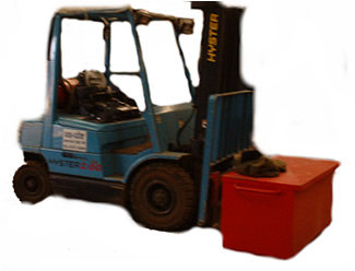 Forklift trucks increase productivity but can also increase risk